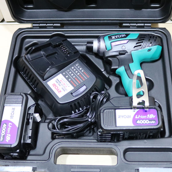 【荒尾市】リョービの電動工具インパクトドライバ高価買取