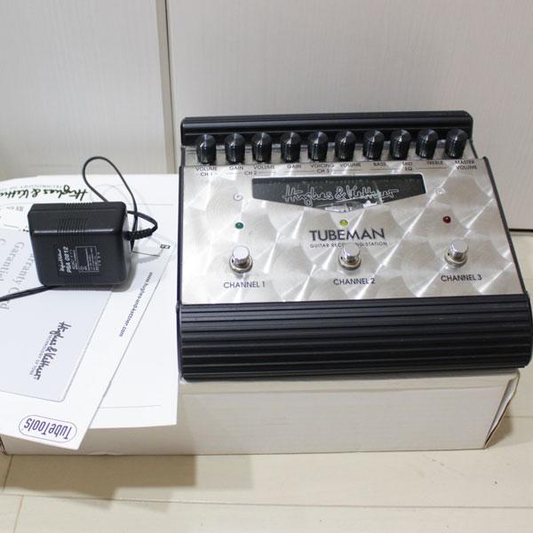 熊本市内よりHUGHES&KETTNERのTUBEMAN 真空管プリアンプ楽器を買取