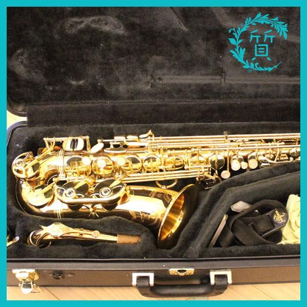 熊本市より楽器ヤナギサワのアルトサックスA902を買取
