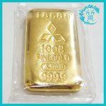 宇土市のお客様よりK24金 純金のインゴットを買取
