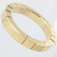八代市のお客様よりカルティエのK18リング 指輪 ラニエールを買取