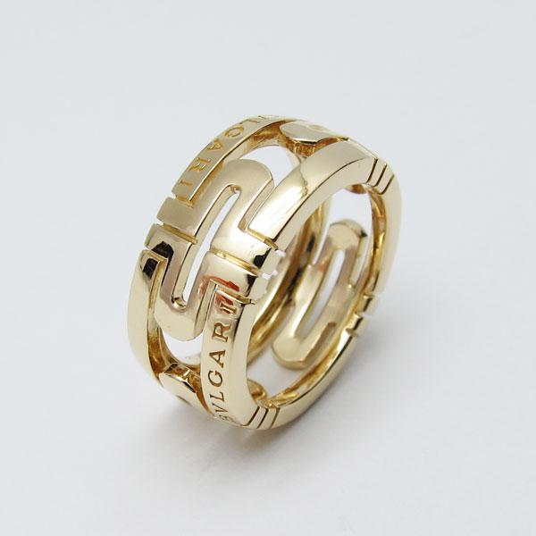 人吉市のお客様よりブルガリのK18金 指輪 パレンテシを買取