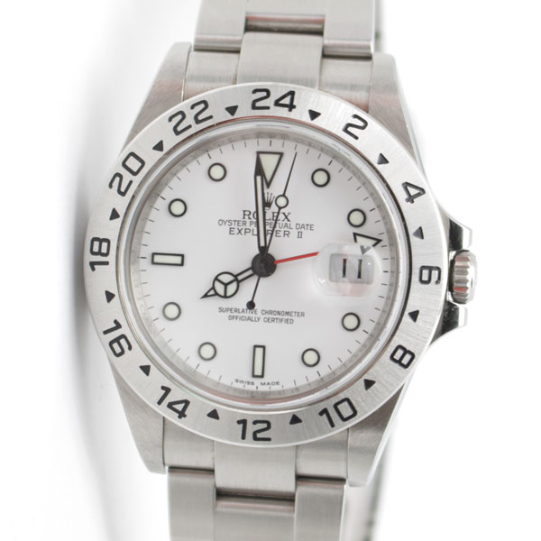 ロレックスの時計、エクスプローラーⅡの魅力と豆知識