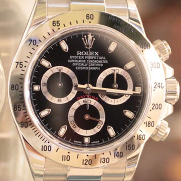 ロレックスの時計、デイトナの魅力と豆知識、買取方法