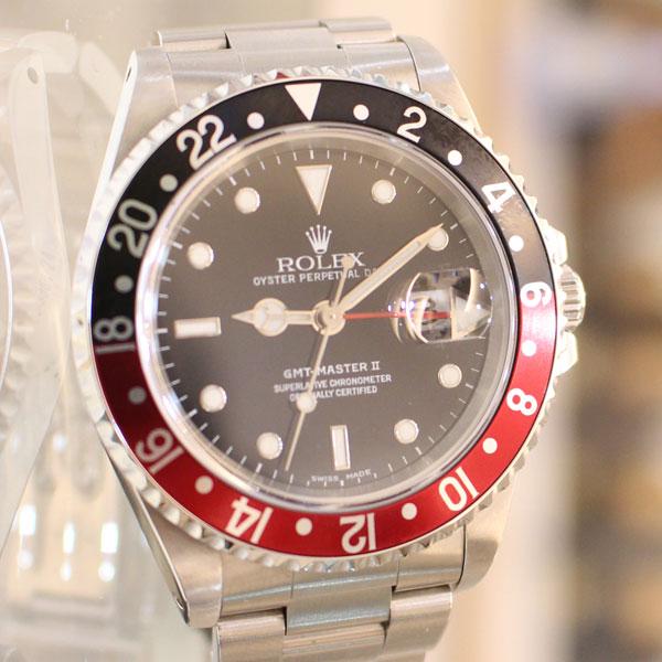 ロレックスの時計、GMTマスターⅡの魅力と豆知識、買取方法