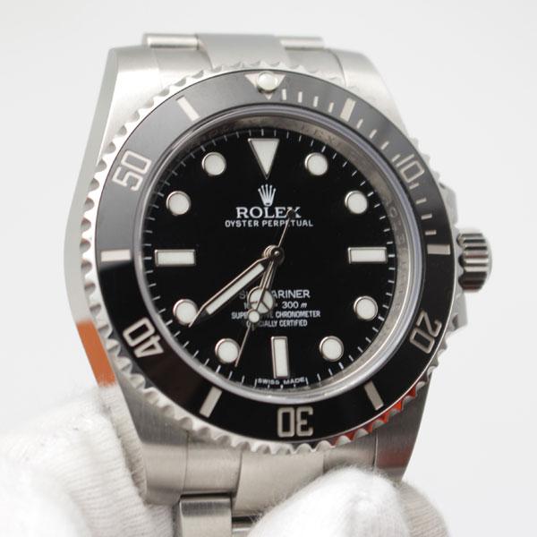 人吉市のお客様よりロレックスの時計 サブマリーナ114060を買取り