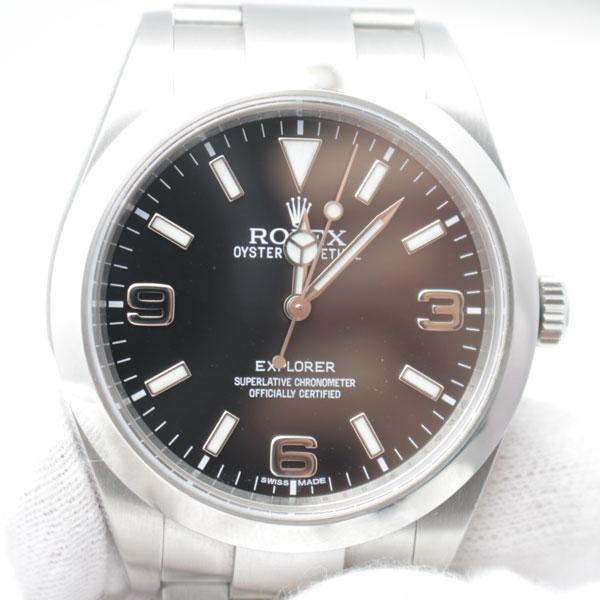 荒尾市のお客様よりロレックスの時計エクスプローラーⅠ214270を買取