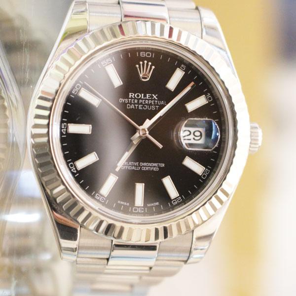熊本県玉名市よりロレックスの時計 デイトジャスト2を買取