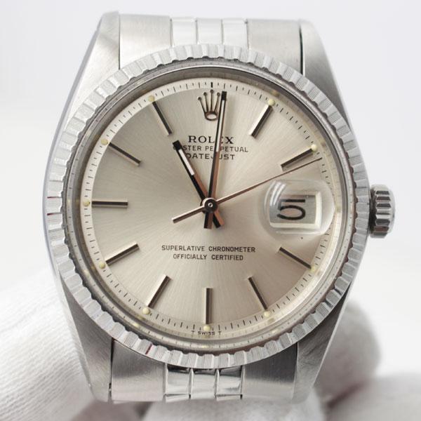荒尾市のお客様よりロレックスの時計 デイトジャスト1603を買取