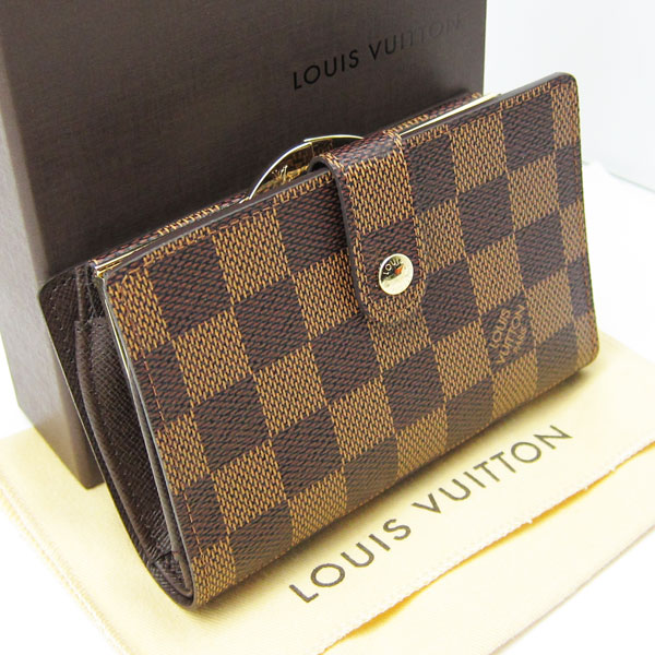 熊本県北区植木町のお客様よりヴィトンのがま口財布 N61674を買取